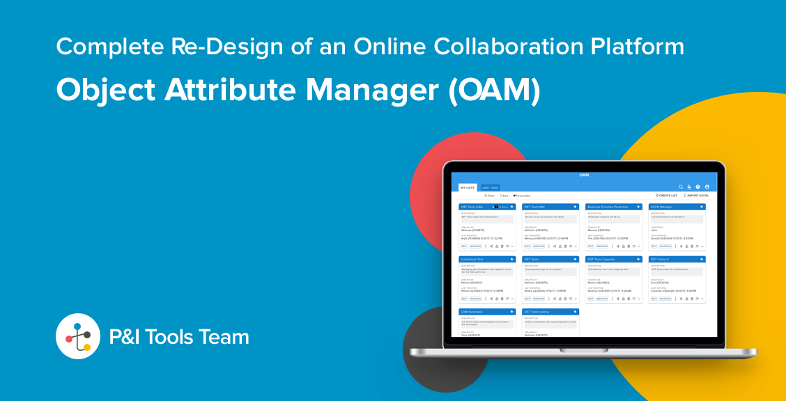 online collaboration platform - OAM(Object attribute manager)
